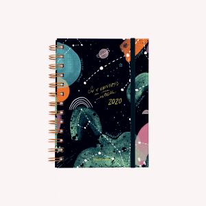 El Universo en una Estrella 2020 Planner - Pocket Open Week
