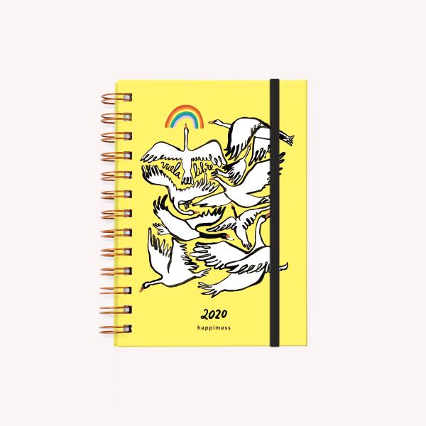 Vuela Libre Pocket 2020 Journal Open Week