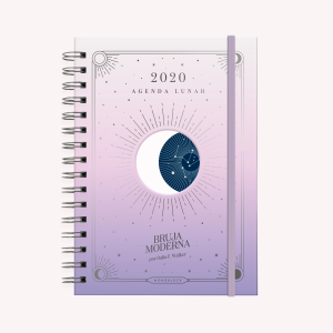 Atardecer 2020 Moon Planner A5 2 Days to a Page