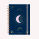 Medianoche 2020 Moon Journal A5 2 Days to a Page