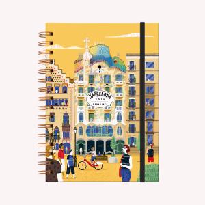 Agenda 2020 De Viaje Barcelona - A5 semana a la vista