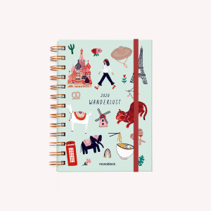 Agenda 2020 De Viaje Wanderlust - Pocket Semana a la Vista