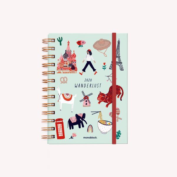 Wanderlust Journal 2020 Pocket Open Week