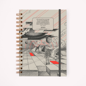 Makers Cosmos 2020 Planner - A5 Open Week