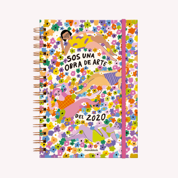 Sos Una Obra de Arte A5  Journal 2020 Open Week