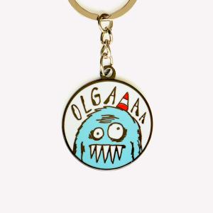 Olga Hard Keychain