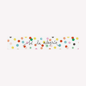 Happimess Sé la alegría Washi Tape