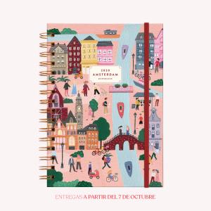 Agenda 2020 De Viaje Amsterdam - A5 Semana a la vista