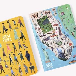 Libreta x 2 De Viaje New York
