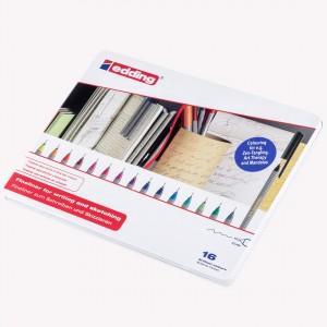 Edding Microfibras x 16 colores