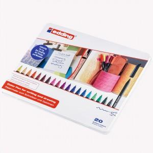 Edding Metal Case Color Pen x 20