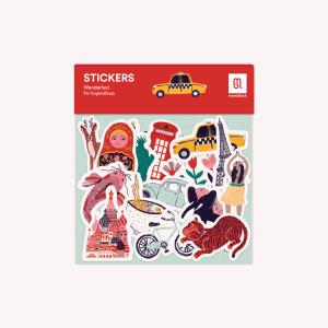 Wanderlust Stickers Ser
