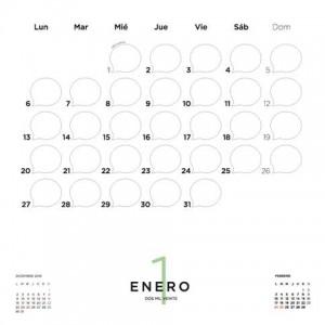 Calendario de Pared 2020 Tute