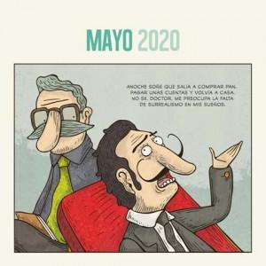 2020 Wall Calendar Montt