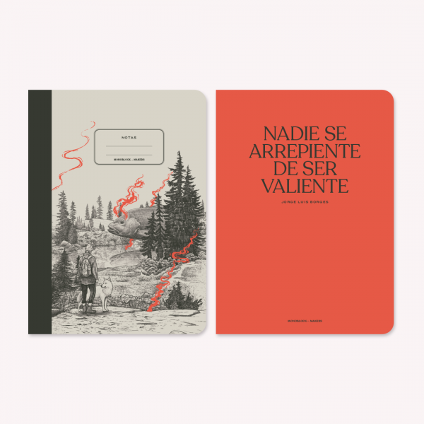Large Notebook x 2 Makers Valiente