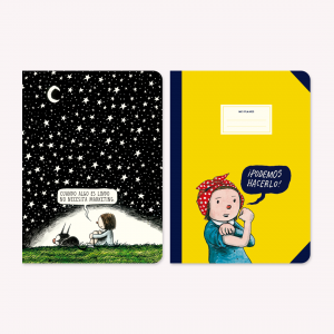 Large Notebook x 2 Macanudo Noche Estrellada