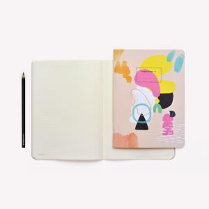 Happimess Arte University Notebook x2