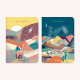 Norte Argentino De viaje Notebook Set x 2