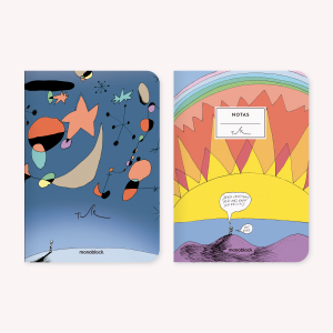 Atardecer - Miro Notebook Set x2