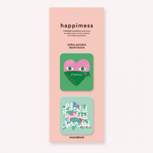 Happimess Libertad Magnetic Bookmarkers