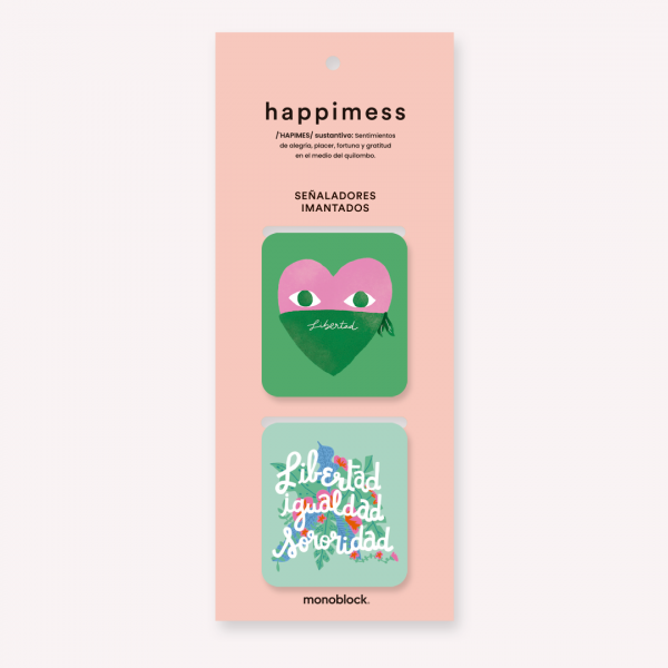 Happimess Libertad Magnetic Bookmakers