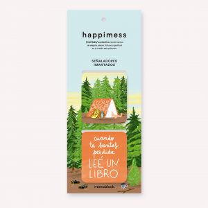 Happimess Refugio Magnetic Bookmarkers