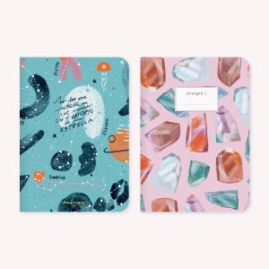 Pocket Notebook x 2 Happimess Fuerza