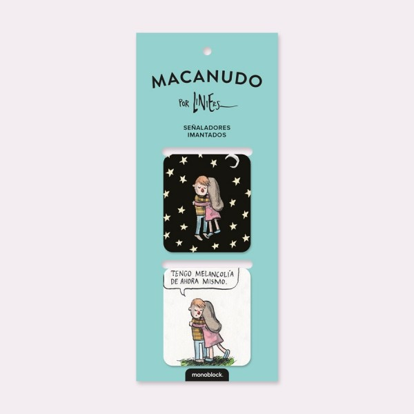 Melancholy Magnetic Bookmarkers