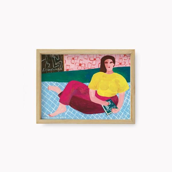 Lamina María Luque Picabia 22x30