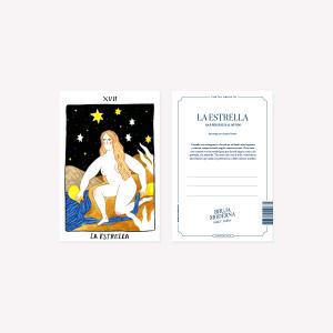 Bruja Moderna La Estrella Postcard