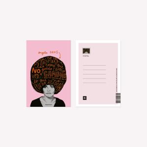 Postal Happimess Angela Davis 10x15 cm