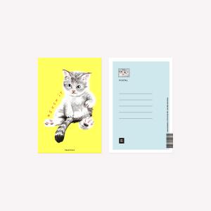 Happimess  Postcard