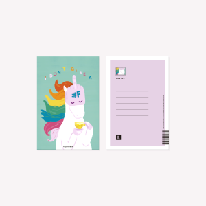 I dont Give Happimess Postcard