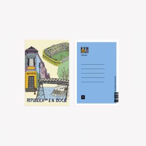 Buenos Aires La Boca Postcard