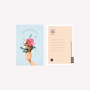 Postal Happimess Revolución 10 x 15 cm