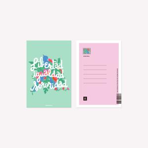 Postal Happimess Sororidad