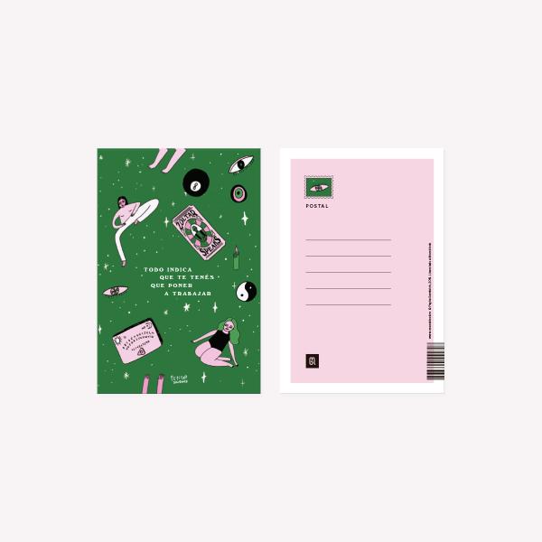 Pepita Sandwich Postcard Todo indica 10x15 cm