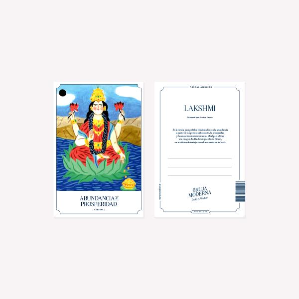 Bruja Moderna Lakshmi Postcard