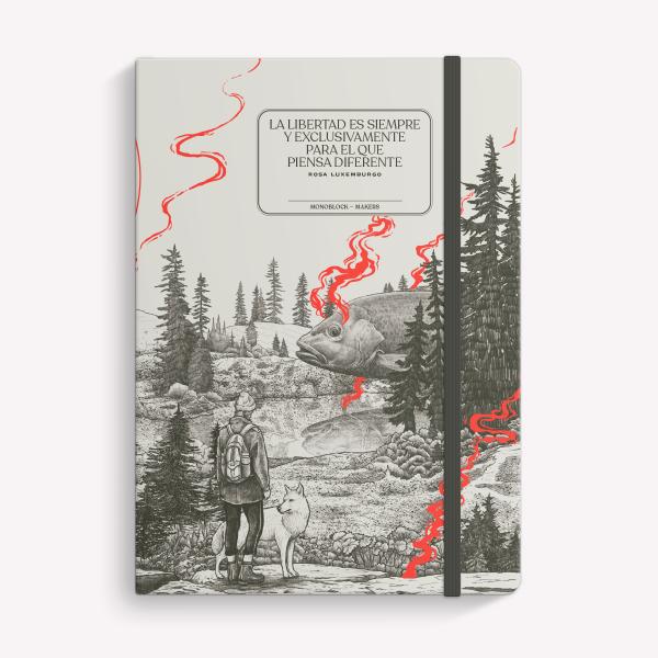 Cuaderno Cosido Mediano Valiente Punteado