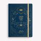 Cuaderno Cosido Mediano Creer para ver AZUL Liso