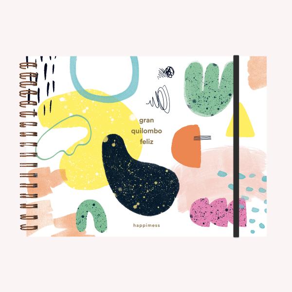 Sketchbook Landscape A4 Happimess Gran Quilombo Feliz