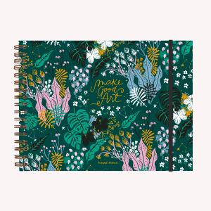 Notebook A4 Believe Verde