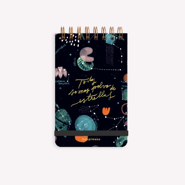 Reporter Notebook Happimess Universo