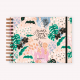 Happimess Believe Rosa Landscape Notebook