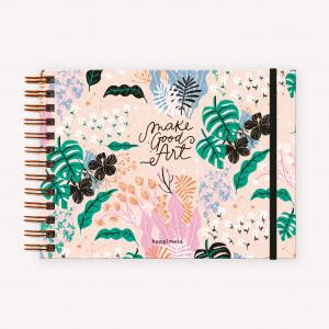 Cuaderno A5 Apaisado Happimess Believe Rosa