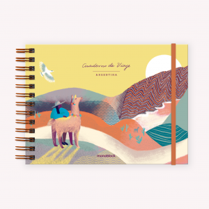 Cuaderno A5 Apaisado De Viaje Norte Argentino