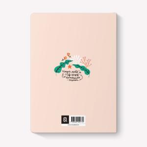 Quilombo Feliz Medium Sewn Notebook Plain