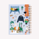 Wanderlust Medium Notebook Dotted