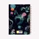 Cuaderno Anillado A5 Punteado Happimess Universo