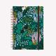 Cuaderno Anillado Mediano Believe verde, Happimess Liso
